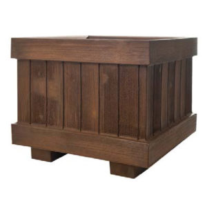 Simil legno quadrato - Vasi Teyplast Arredo urbano - Nuova Pasquini & Bini