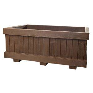 Simil legno rettangolare - Vasi Teyplast Arredo urbano - Nuova Pasquini & Bini