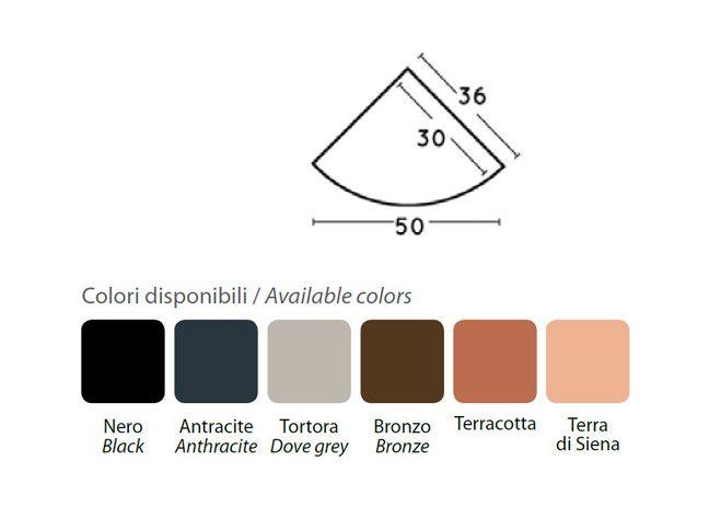 Vela angolare colori - Nuova Pasquini & Bini