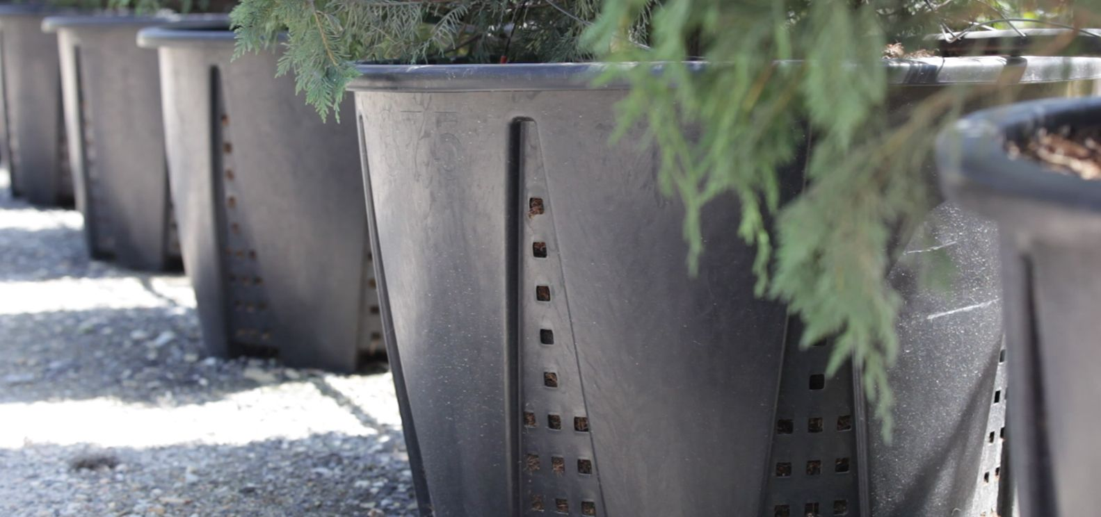 Nuova pasquini bini vasi in plastica vivaio giardino for Produzione arredo urbano