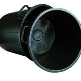 Heavy duty containers with bottom handles - Nuova Pasquini & Bini