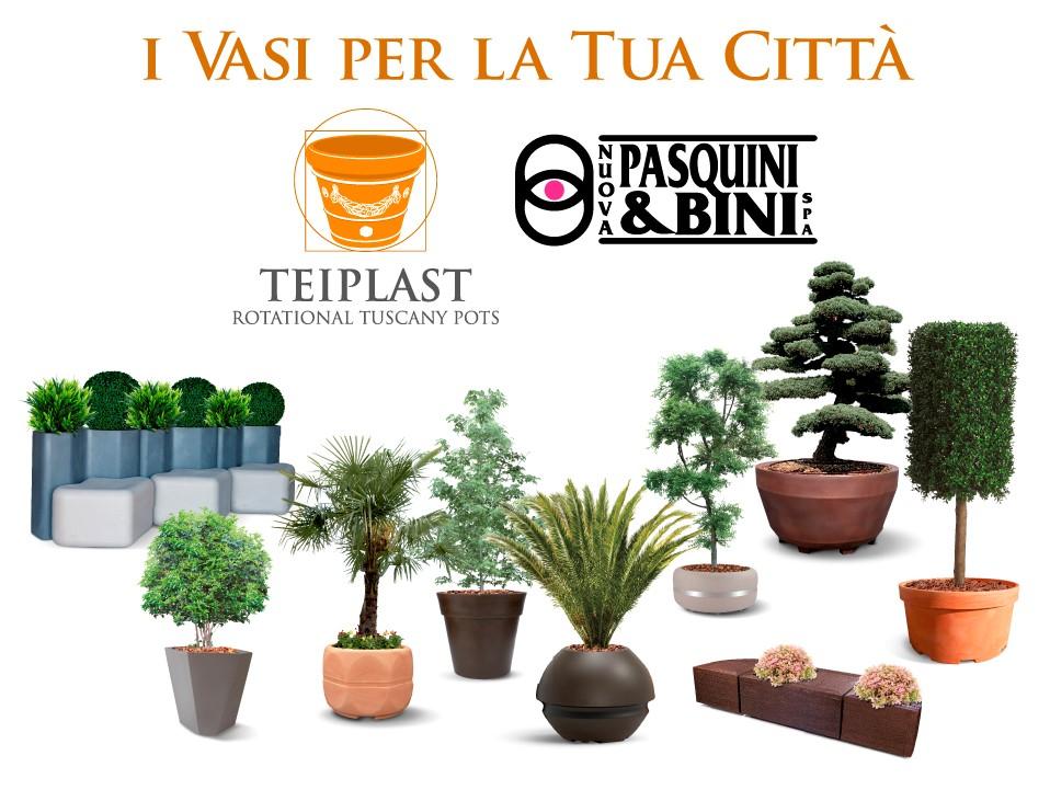 Vasi In Plastica Da Arredo.Nuova Pasquini Bini Vasi In Plastica Vivaio Giardino Arredo